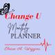change u monthly planner